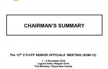 Chairman's Summary SOM-12, Papua New Guinea...
