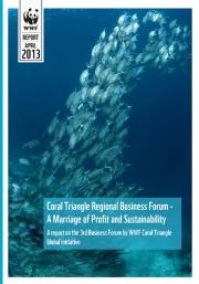 Report: 3rd CTI-CFF Business Forum, Bali, Indonesia, March 2013