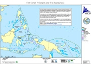 Map: EcoRegions in the Coral Triangle, December 2009