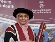 Swansea University honours Vice-Chancellor of the University Malaysia Terengganu